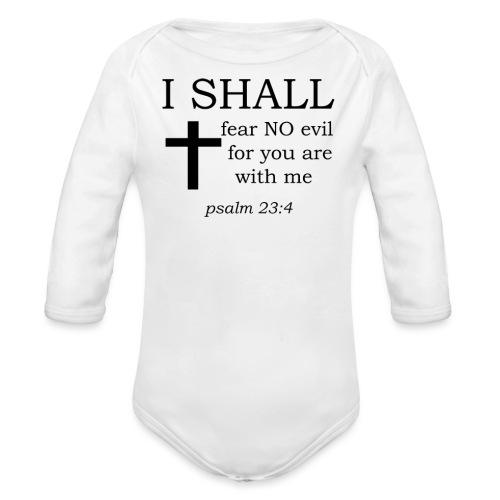 'I SHALL' t-shirt - Organic Longsleeve Baby Bodysuit