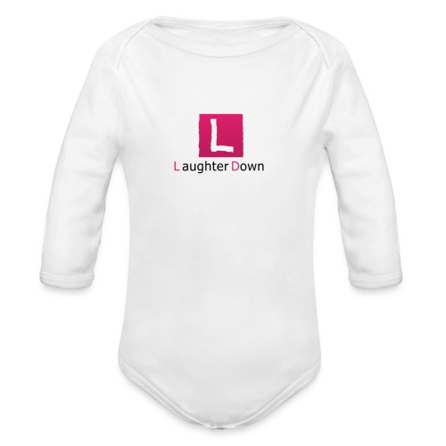 laughterdown official - Organic Longsleeve Baby Bodysuit
