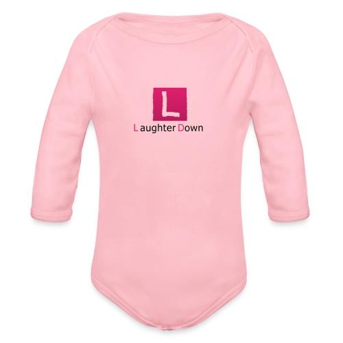 laughterdown official - Organic Longsleeve Baby Bodysuit