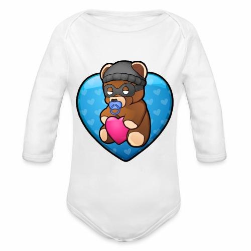 Bobby Bear - Organic Longsleeve Baby Bodysuit