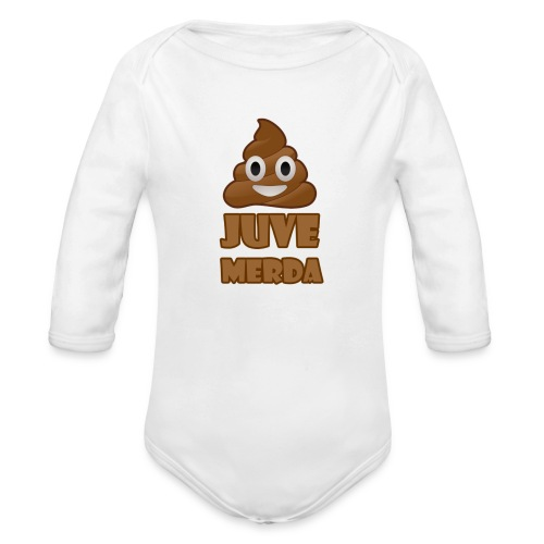 juve merda - Body ecologico per neonato a manica lunga