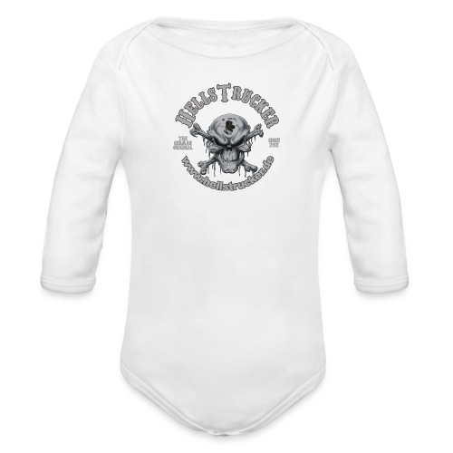 HellsTruckerLogo - Baby Bio-Langarm-Body