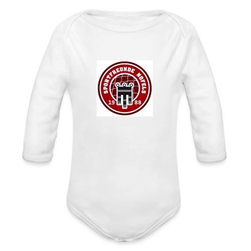 SFN Logo - Baby Bio-Langarm-Body