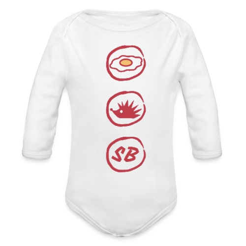 Up The Birds - Organic Longsleeve Baby Bodysuit