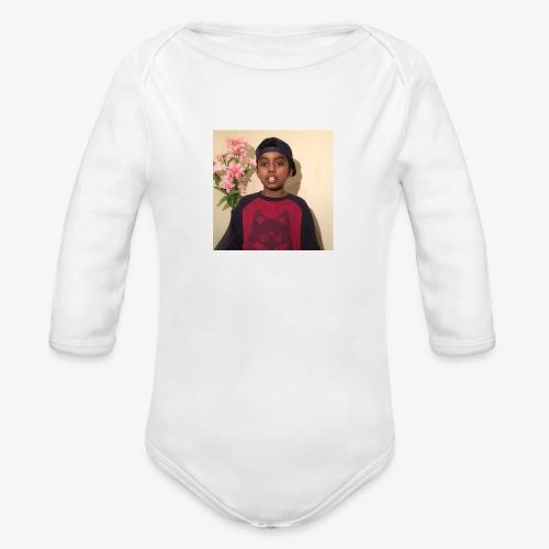 MK VLOGS - Organic Longsleeve Baby Bodysuit