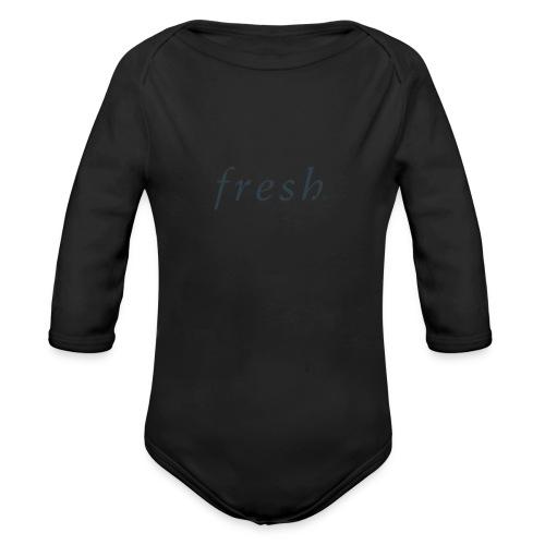 Fresh - Organic Longsleeve Baby Bodysuit