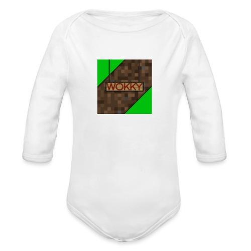 Wokky T Shirt - Ekologisk långärmad babybody