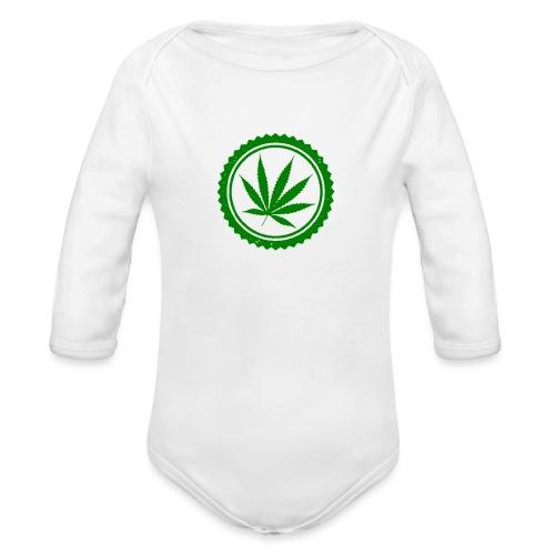 Weed - Baby Bio-Langarm-Body