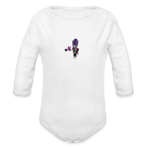 45b5281324ebd10790de6487288657bf 1 - Organic Longsleeve Baby Bodysuit