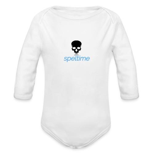 speltime - Ekologisk långärmad babybody