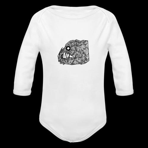 Viperfish T-shirt - Body ecologico per neonato a manica lunga