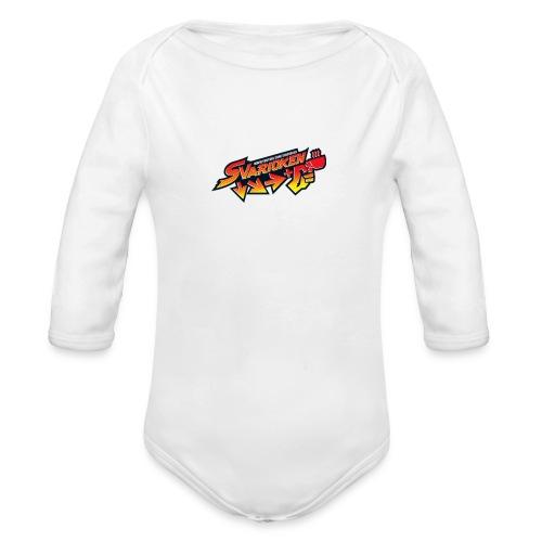 Spilla Svarioken. - Body ecologico per neonato a manica lunga