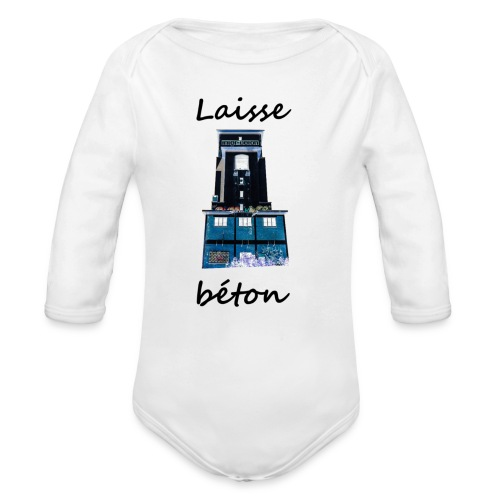 laisse_b--ton-png - Body Bébé bio manches longues