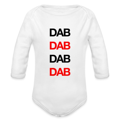 Dab - Organic Longsleeve Baby Bodysuit