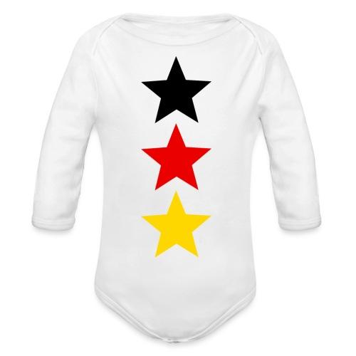3 Sterne Deutschland #1 - Baby Bio-Langarm-Body