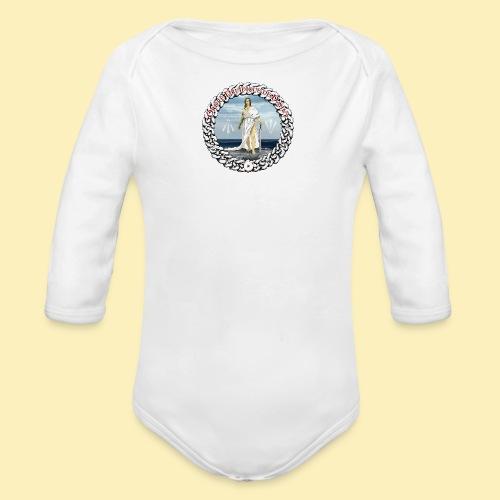 Ordre Druidique de Dahut Logo - Body Bébé bio manches longues