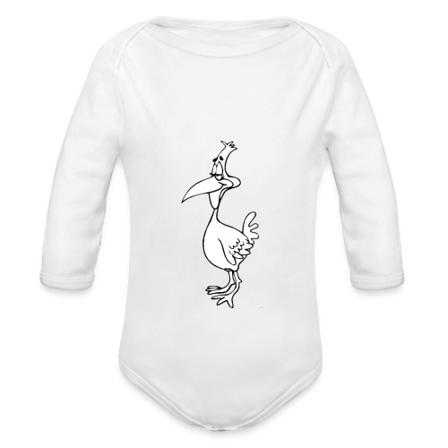 Vogel Design - Baby Bio-Langarm-Body