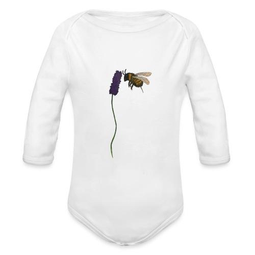 Pollinatore - Body ecologico per neonato a manica lunga