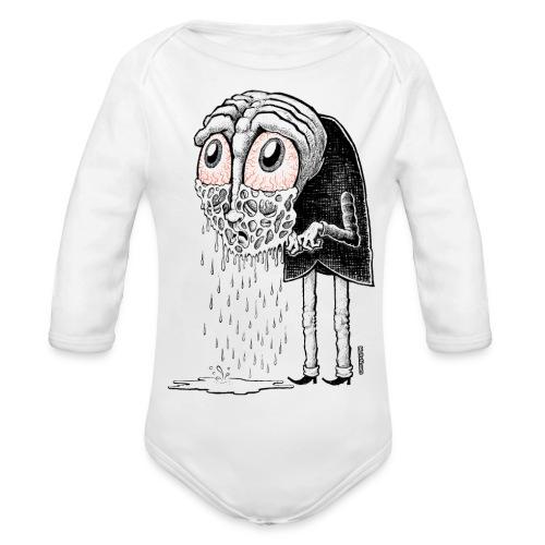 Crybaby 1 - Organic Longsleeve Baby Bodysuit
