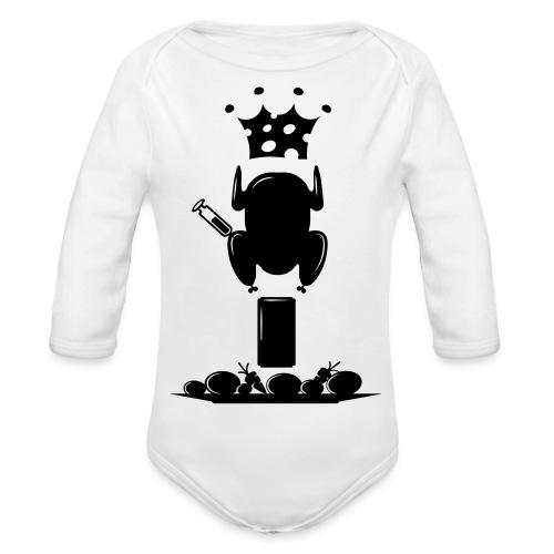 Bella maglietta per le donne 2 - Body ecologico per neonato a manica lunga