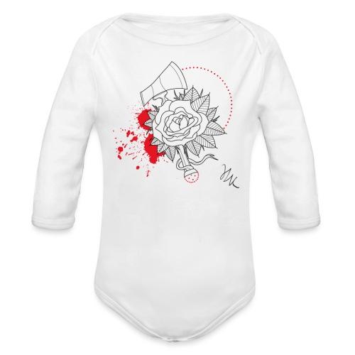 Rose - Body Bébé bio manches longues