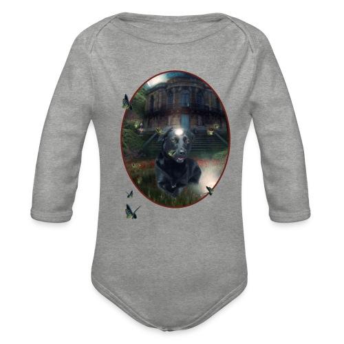 PlaneetCay t shirt - Baby bio-rompertje met lange mouwen