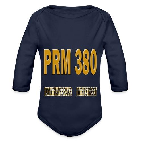 PRM STREET380 P - Body Bébé bio manches longues
