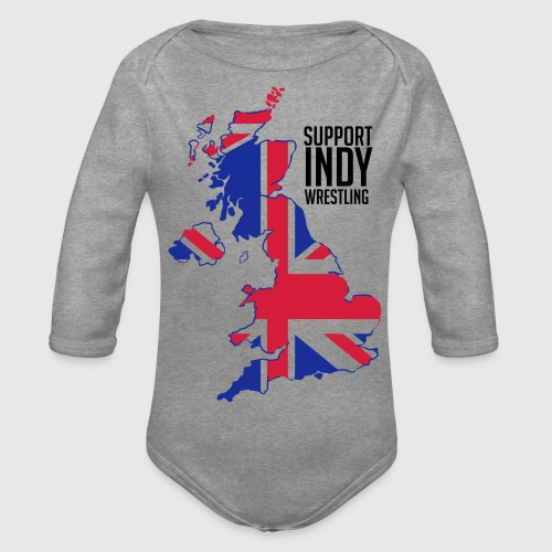 Indy Britain - Organic Longsleeve Baby Bodysuit
