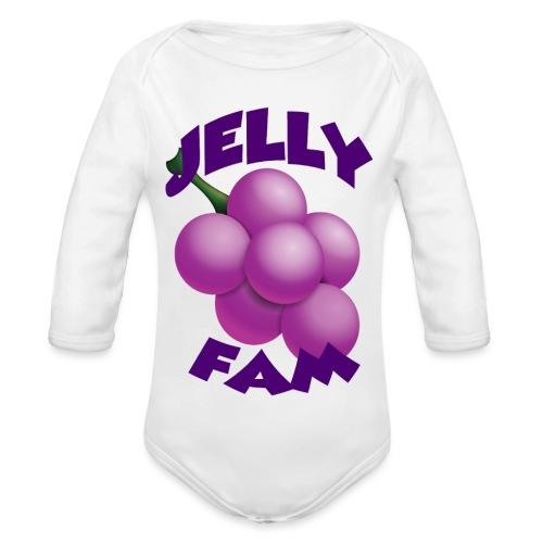 JellySquad - Langærmet babybody, økologisk bomuld