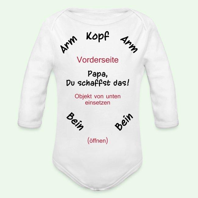 Kauf echt lebendig und großartig im Stil reich und großartig baby body strampler // Papa, Du schaffst das! | Baby Bio-Langarm-Body