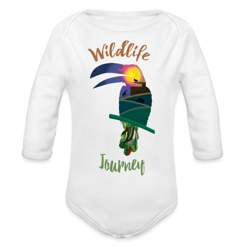 Wildlife Journey - Baby Bio-Langarm-Body