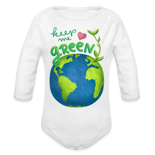 Keep Me Green - Baby Bio-Langarm-Body