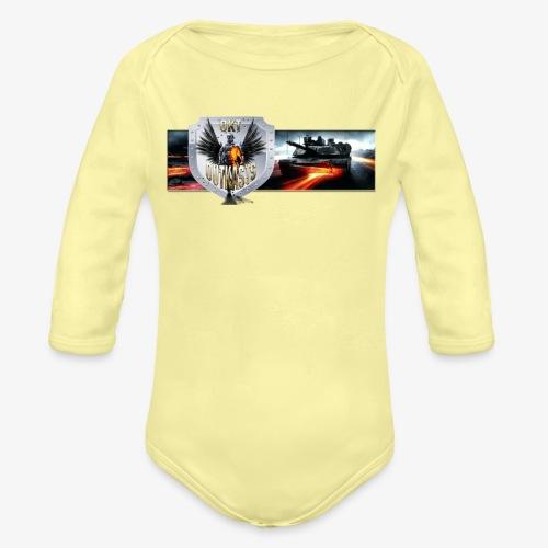 outkastbanner png - Organic Longsleeve Baby Bodysuit