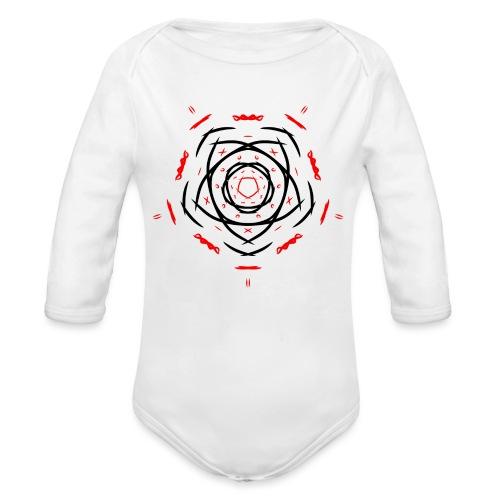 Symbol - Body orgánico de manga larga para bebé