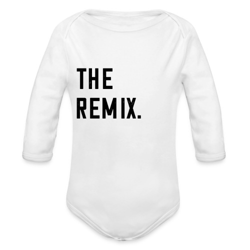 The Remix T-Shirt Baby Eltern Kind Paar Outfit - Baby Bio-Langarm-Body