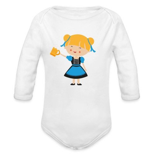 Happy Meitlis - Europa - Baby Bio-Langarm-Body