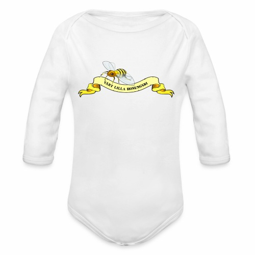 Vårt Lilla Honungsbi - Ekologisk långärmad babybody