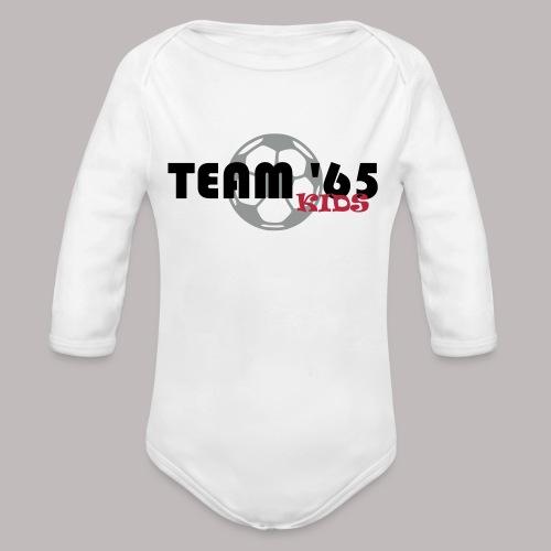 Team 65 Kids - Baby Bio-Langarm-Body