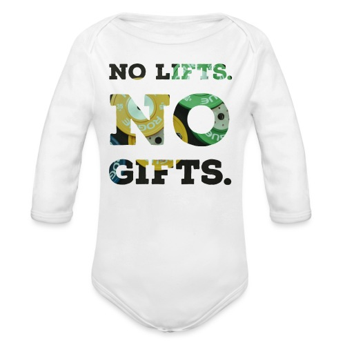 No lifts, no gifts - Baby Bio-Langarm-Body