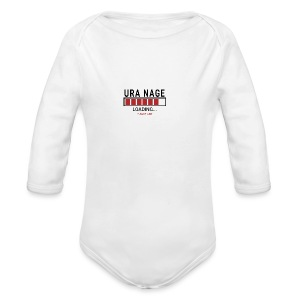 Uranaga Loading... Pleas Wait - Ekologiczne body niemowlęce z długim rękawem