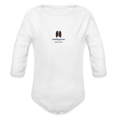roeldegamer - Baby bio-rompertje met lange mouwen