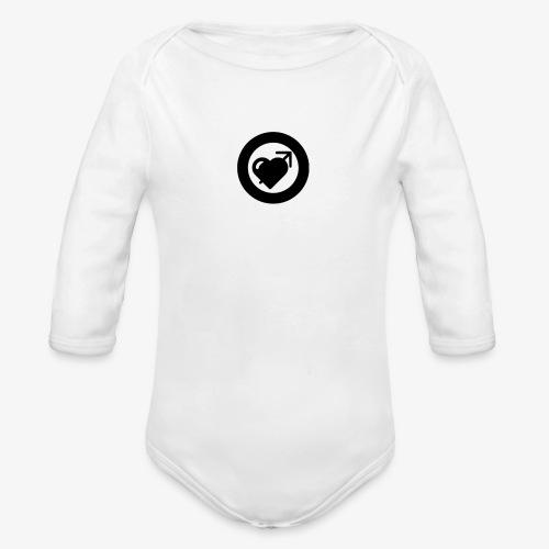LOOVE (SS18) - Body ecologico per neonato a manica lunga