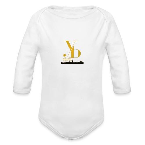EINISCH YB FAN IMMER EH YB FAN - Baby Bio-Langarm-Body
