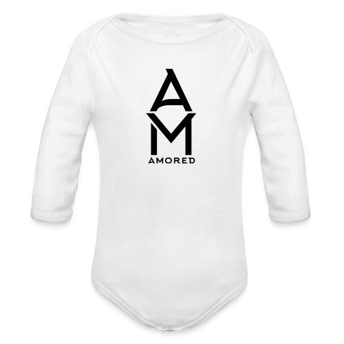 Amored Classic Design - Baby bio-rompertje met lange mouwen