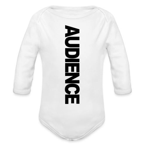 audienceiphonevertical - Organic Longsleeve Baby Bodysuit
