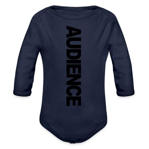 audienceiphonevertical - Organic Longsleeve Baby Bodysuit