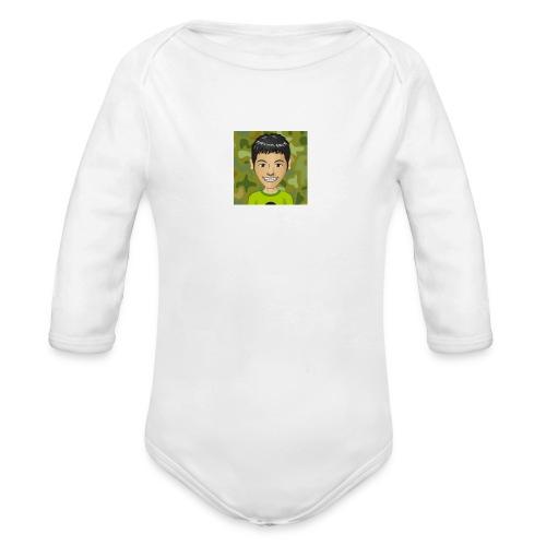 smilehappy11 - Organic Longsleeve Baby Bodysuit