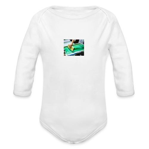 descarga - Body orgánico de manga larga para bebé