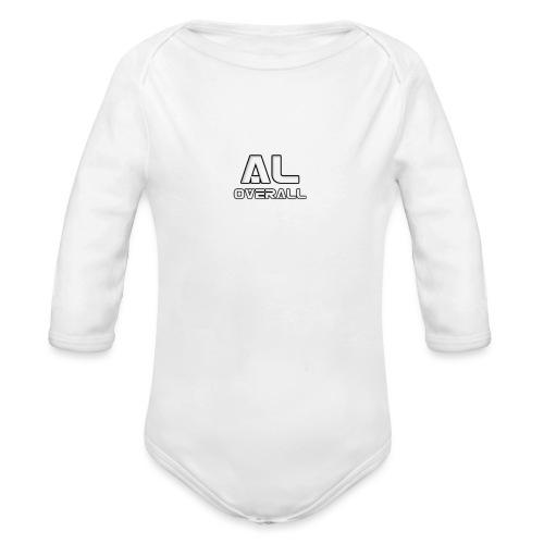 AL- Overall - Økologisk langermet baby-body