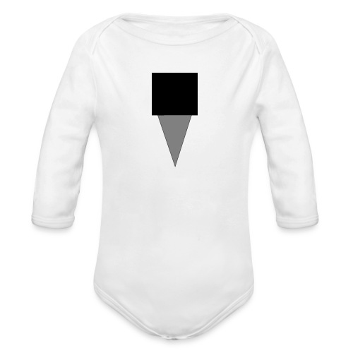 Mystery Mike Hat - Organic Longsleeve Baby Bodysuit